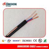 Rg59 CCTVのためのシャムの同軸Cable+ 2cの電源コード