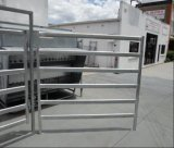 los paneles de acero de la yarda del ganado del carril oval de 1800X2100m m Australia/los paneles usados del ganado