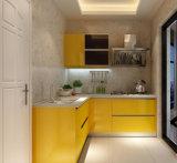 China maakte Moderne Houten Keukenkast voor Verkoop