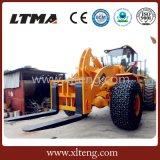 Ltma高いQuanlity 40トンの大きいフォークリフトの車輪のローダー