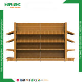 Rack d'affichage en bois avec rack et Store Fixtures