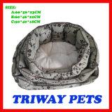 높은 Quaulity 싼 다가붙기 개 고양이 애완 동물 침대 (WY161074-5A/C)