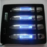 Le nuove maniglie di portello chiare dell'automobile del LED