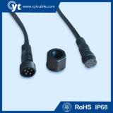 3pinは男性およびメス型コネクタが付いているLEDケーブルを防水する