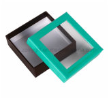 Customize Rigid Cardboard Box with Clear PVC Window