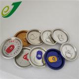 缶のためのアルミニウム容易な開いた缶のふた202のふた