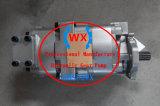 705-51-30170クレーンLw250L-1nh/Lw250L-1nxのための二重油圧ギヤポンプ