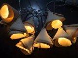 Luz nova com tampa de Bell, luz da corda do diodo emissor de luz de Natal