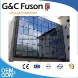 Pareti divisorie di vetro di alluminio di stabilità strutturale per il fabbricato
