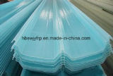 Feuille de toiture en PRF ondulé translucides en plastique des panneaux de toit