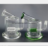 Grüne, transparente Vogel-Nest-Filter-Glas-Huka-Gewehr