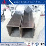 明るい磨かれたのステンレス鋼の長方形の管