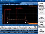 El dominio del tiempo OTDR reflectómetro óptico