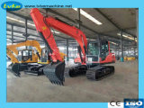 Pleine hydraulique excavatrice à chenilles de 8,5 tonne Digger Machine