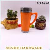 450ml de Mok van de Koffie van het roestvrij staal met Handvat (sh-SC02)