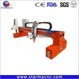 Portable Pórtico máquina cortadora de plasma CNC Máquina de corte de metal de acero
