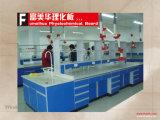 Résistance chimique biométrique Worktop de pièce de laboratoire
