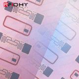 لبولي كلوريد الفينيل بطاقة الذكية / بطاقة إنتاج مخصص الحجم وتتفاعل البطانة