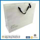 Blanc Customized Logo Papier d'impression d'emballage Sac (GJ-Bag509)