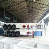 Behälter-LKW-Schlussteil der Chassis-Skeleton Laden-Plattform-20FT 40FT halb für Verkauf