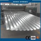 Jisg3302 Z100 최신 복각 직류 전기를 통한 물결 모양 루핑 강철판
