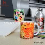 A4/A3 Sheet Anti-Curl Sublimation Transfer Paper pour le tapis de souris, le Mug, surface dure et le Gifts