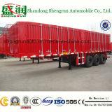 De Semi Aanhangwagen van het Type van doos voor het Vervoer van de Lading