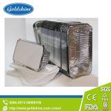 Wegwerfhaushalts-Aluminiumfolie-Tellersegment mit Kappe
