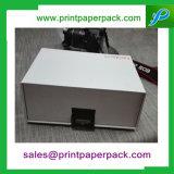 Anunció el rectángulo de papel de empaquetado de los cosméticos de la cartulina plegable de lujo