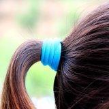 Lot 40PCS versieht Kopfschmuck-Gummi-Haar-Gleichheit für Kinder mit einem Band