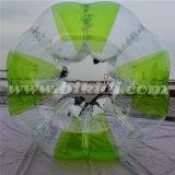 Bola adulta loca al aire libre de los parachoques del compinche. Balón de fútbol de la burbuja de TPU D5085