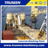 Het Mengen zich van het Type Hzs60 van Transportband van de riem de Concrete Machine van de Bouw van de Installatie