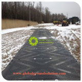 Design profissional reciclou UHMWPE Estrada Upe Tapete de protecção do solo