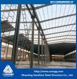 Structure en acier de construction de l'atelier mobile
