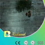 Commrcial 8.3mm Pearl Walnut V-capas de dois gumes Parafinado piso laminado