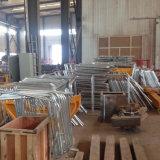タワークレーンのためのアルミ合金作業プラットホームそして梯子