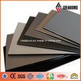 Panneau composite en aluminium et revêtement en polyester à plusieurs couleurs PVDF