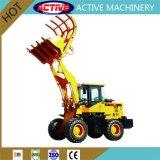 Активные торговые марки AL919C травы колесного погрузчика вилочного захвата с более подъемный рычаг, захоронения высоту 4,5 м для продажи