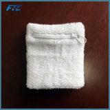 Le support de poignet personnalisé par coton chaud de Terry de vente folâtre le Sweatband de protecteur