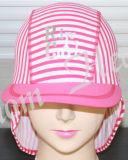 Natación Moda Spandex Striped Cap