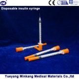 처분할 수 있는 1cc 인슐린 주사통 0.5cc 인슐린 주사통 0.3cc 인슐린 주사통 (ENK-YDS-037)