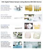 CNC kundenspezifischer Beispielscherblock-Ausschnitt-Darstellung-Plotter-Drehbank-kundenspezifischer Firmenzeichen-Papier-Locher