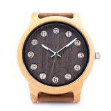 환경 보호 일본 새로운 운동 나무로 되는 형식 시계 Bg454