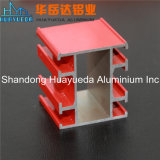 Profils en aluminium pour l'aluminium de profil d'extrusion de prix bas de guichet en verre de plaque