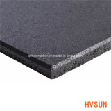 Venta Directa de Fábrica de alta calidad absorbente negro de la almohadilla de goma