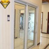 Раздвижная дверь термально конструкции пролома новой алюминиевая с Tempered стеклом