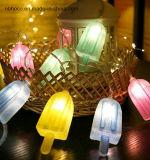 """LED de 10 luces de la cadena de helados con """"Try Me"""""""