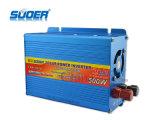 Inverseur 12V d'énergie solaire de l'inverseur 500W de pouvoir de Suoer à l'inverseur de prix usine 220V avec CE&RoHS (FAA-500A)