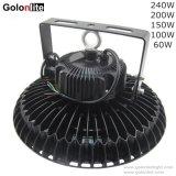 Gebildet im China-Lieferanten 5 Jahre der Garantie-Qualitäts-130lm/W hohe der Bucht-150W LED industrielle Licht-