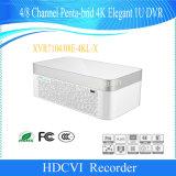 Канал Penta-Brid Dahua 4/84K Элегантный цифровой видеорегистратор 1u (XVR7104E-4KL-X/XVR7108E-4KL-X)